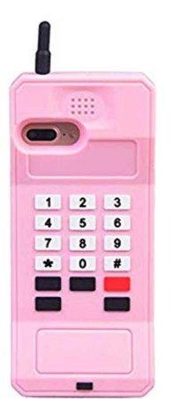 retro pink phone case