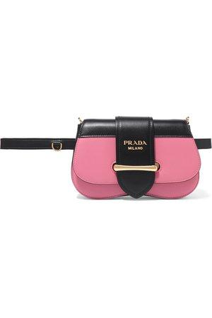Prada | Sidonie two-tone leather belt bag | NET-A-PORTER.COM