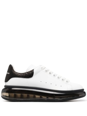 Alexander McQueen Oversized lace-up Sneakers - Farfetch