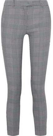 Goldie Prince Of Wales Checked Woven Skinny Pants