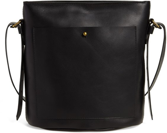 The Transport Leather Bucket Bag