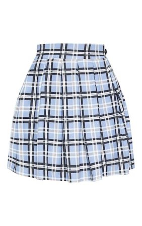Pastel Check Pleated Tennis Skirt