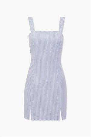 Pinstriped M-Slit Dress | Forever 21
