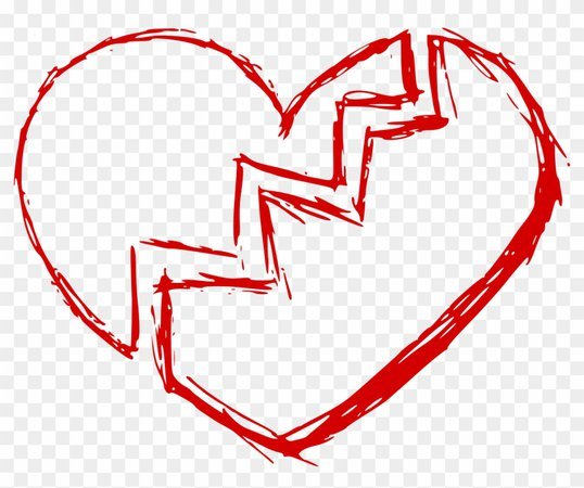 Broken Heart Frame
