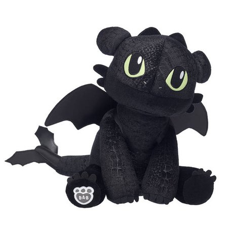 Toothless Plush Dragon | Make Your Own Stuffed Toothless at Build-A-Bear®