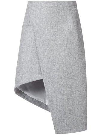 Mugler Asymmetric A-line Skirt - Farfetch