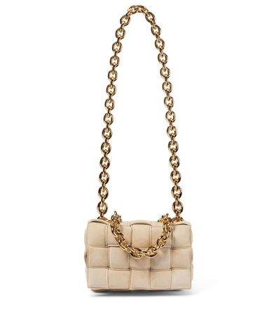 The Chain Cassette Suede Shoulder Bag | Bottega Veneta - Mytheresa