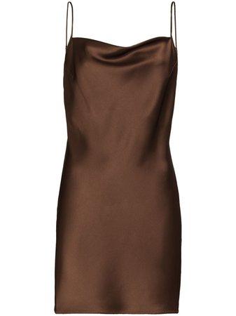 Nanushka Lotti Fitted Mini Dress - Farfetch