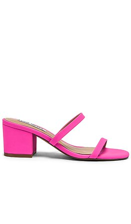 Steve Madden Issy Mule in Neon Pink | REVOLVE
