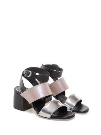 Women's Heeled Sandals Nietta Silver 43308_000002 - Janet & Janet