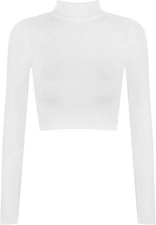 Turtle Neck Crop