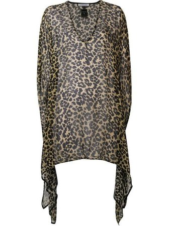 Fisico leopard print beach cover-up $403 - Buy SS19 Online - Fast Global Delivery, Price