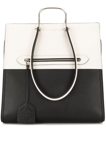 Alexander McQueen The Tall Story tote bag - FARFETCH