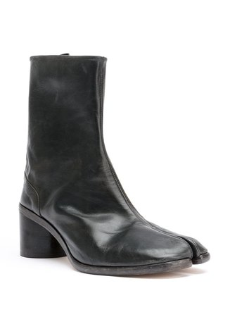 Black Maison Margiela Tabi Ankle Boots For Men | Farfetch.com