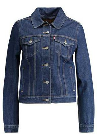 Levi's® ORIGINAL TRUCKER - Denim jacket - clean dark authentic - Zalando.co.uk