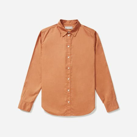 Women's Silky Cotton Relaxed Shirt | Everlane