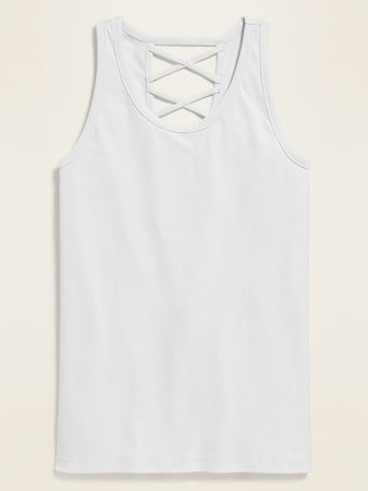 Strappy-Back Tank for Girls | Old Navy