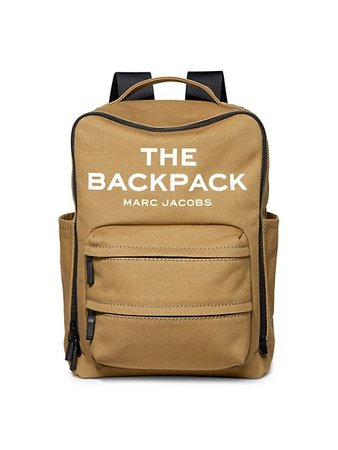 The Marc Jacobs Canvas Backpack | SaksFifthAvenue