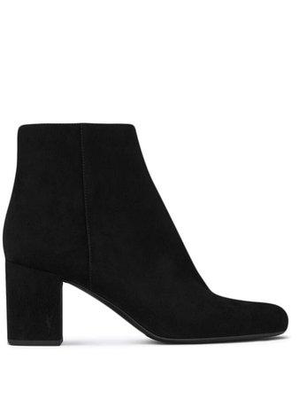 Saint Laurent Lou Ankle Boots - Farfetch