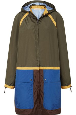 Marni | Color-block shell jacket | NET-A-PORTER.COM