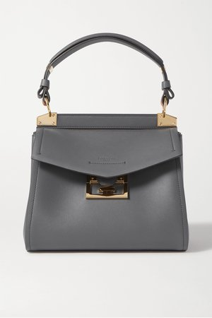 Gray Mystic small leather tote | Givenchy | NET-A-PORTER