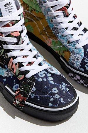 Vans Sk8-Hi Reissue Cap Floral Sneaker | Urban Outfitters
