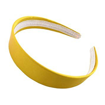 yellow satin headband - Google Search