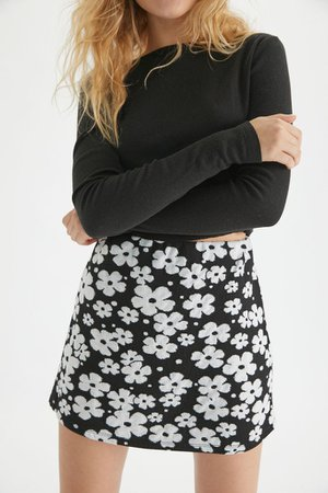 UO Clara Knit Mini Skirt | Urban Outfitters