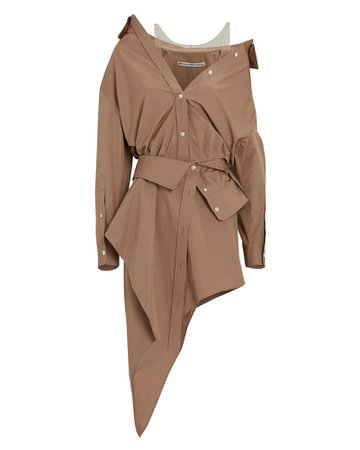 Alexander Wang Deconstructed Mini Shirt Dress | INTERMIX®