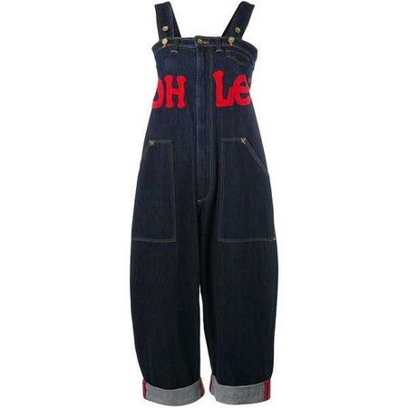 House Of Holland 'HoH x Lee Collaboration' dungarees ($220)