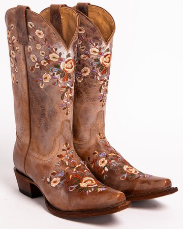 Shyanne® Women's Floral Embroidered Western Boots   Boot Barn