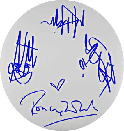 Rolling Stones autograph