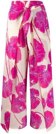 Kilea kimono leaf trousers