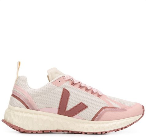 Panelled Low Top Trainers