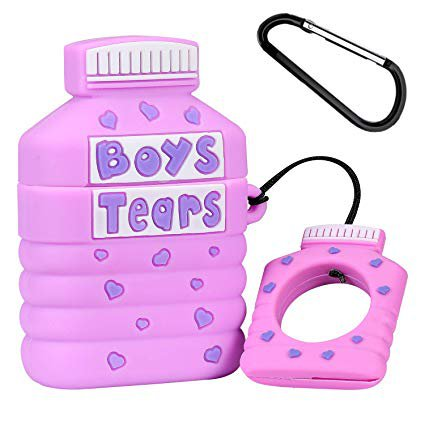 Amazon.com: Joyleop(Boys Tears) Compatible with Airpods 1/2 Case Cover,3D Cute Cartoon Luxury Funny Fun Cool Kawaii Fashion, Silicone Airpod Character Skin Keychain Ring,for Girls Boys Teens Kids Air pods 1& 2: Gateway