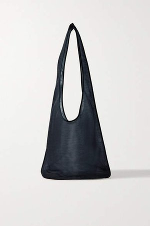 Bindle Mesh Shoulder Bag - Navy