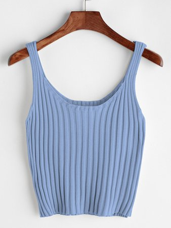 Ribbed Tank Top | ROMWE