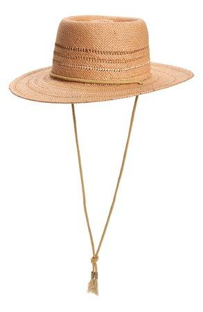 Treasure & Bond Stripe Boater Hat | Nordstrom