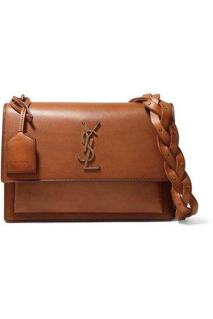 Saint Laurent   Sunset medium leather shoulder bag   NET-A-PORTER.COM