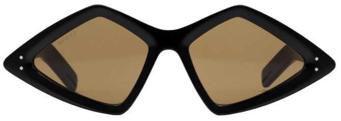 Gucci Diamond Frame Glasses
