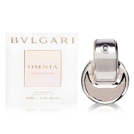 Amazon.com: Omnia Crystalline de Bvlgari para mujer Eau De Toilette espray, Blanco: Bulgari: Beauty