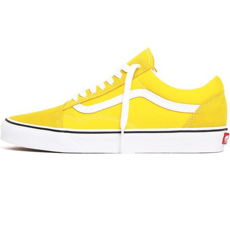 Vans - Old Skool Sneakers Vibrant Yellow / True White – MTVTN.com