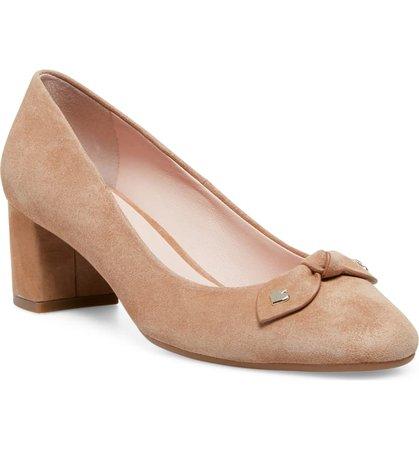 kate spade new york benice block heel pump (Women) | Nordstrom