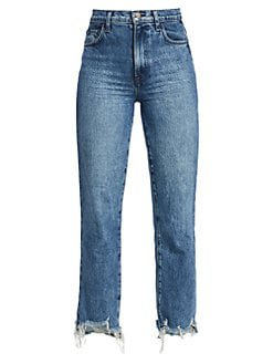 J Brand Jules straight-leg jeans