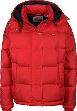Levi's Women's Red Martina Puffer Jacket