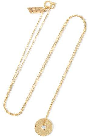 Loren Stewart | 14-karat gold necklace | NET-A-PORTER.COM