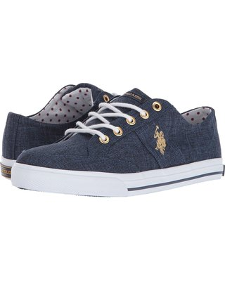 Womens Navy Polo Shoes