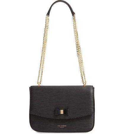 Ted Baker London Danieel Bow Leather Crossbody Bag | Nordstrom