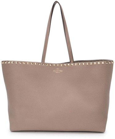 Garavani Rockstud leather tote