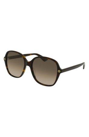 Gucci 55mm Gradient Sunglasses   Nordstrom